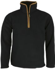 Country Fleece Pullover - Black